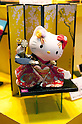 "September 5 2012, Japan - The Hello Kitty doll exhibit at Gift Show exhibition. The 74th Tokyo International Gift Show brings together 2,400 companies including from China, South Korea, Taiwan and Hong Kong displaying the latest gifts and daily life products, in the biggest international trade show at Tokyo Big Sight. This year the theme of the exhibition is ""Proposing 2012 Future-oriented Relaxation Gifts"". (Photo by Rodrigo Reyes Marin/AFLO).."