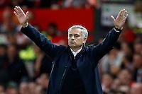 Jose Mourinho, alienator del  Manchester United<br /> Manchester 19-08-2016<br /> Premier League,<br /> Manchester United - Southampton <br /> Foto Darren Staples/Panoramic/Insidefoto