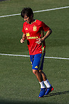 Spanish David Silva during the first training of the concentration of Spanish football team at Ciudad del Futbol de Las Rozas before the qualifying for the Russia world cup in 2017 August 29, 2016. (ALTERPHOTOS/Rodrigo Jimenez)
