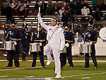 November 10, 2012: The Nevada band performs before the Fresno State Bulldogs against the Nevada Wolf Pack NCAA football game played at Mackay Stadium on Saturday night in Reno, Nevada.