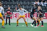AMSTELVEEN - Pleun van der Plas (DenBosch)  tijdens de hoofdklasse hockeywedstrijd dames,  Amsterdam-Den Bosch (1-1).   COPYRIGHT KOEN SUYK