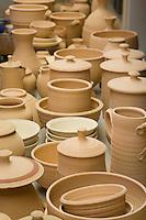 Clay Artwork, Ceramic Studio, Wheaton Arts and Cultural Center, Millville, New Jersey