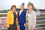 Enjoying Ladies Day at the Listowel Races on Friday were:  Brid O'Donnell, Doreen O'Donnell and Joan Breen from Ballymacelligott