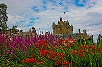 A view of beautiful Cawdor Castle