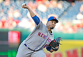 New York Mets relief pitcher Fernando Salas (59) works in the seventh inning against the Washington Nationals at Nationals Park in Washington, D.C. on Wednesday, September 14, 2016.  The Nationals won the game 1 - 0.<br /> Credit: Ron Sachs / CNP<br /> (RESTRICTION: NO New York or New Jersey Newspapers or newspapers within a 75 mile radius of New York City)