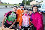 John Scanlon, Michael O'Flaherty, Maria Conway, Edwina Scanlon and Tracey O'Flaherty at the Stephenie O'Sullivan Memorial Cycle at Milton on Sunday.