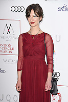 Sofia Safonova<br /> at the 2017 Critic's Circle Film Awards held at the Mayfair Hotel, London.<br /> <br /> <br /> ©Ash Knotek  D3219  22/01/2017