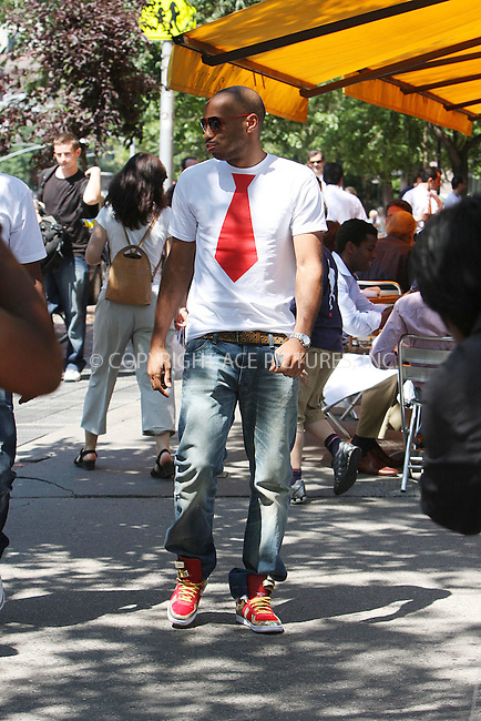 WWW.ACEPIXS.COM ** ** ** ....July 2 2008, New York City....French soccer star Thierry Henry was out with friends on July 2 2008 in Soho, New York City......Please byline: STAN ROSE -- ACEPIXS.COM.. *** ***  ..Ace Pictures, Inc:  ..tel: (646) 769 0430..e-mail: info@acepixs.com..web: http://www.acepixs.com