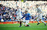 Steven Naismith scores the opening goal for Rangers