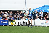 KAATSEN: STIENS: Kaatsvereniging 'KC De Boer', 10-06-2012, Heren Hoofdklasse Vrije Formatie, Jan Dirk de Groot (Koning van het winnende partuur) aan de opslag, ©foto Martin de Jong