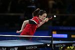 Glasgow 2014 Commonwealth Games<br /> Megan Phillips v Anniesa Benstrong<br /> Women's Table Tennis <br /> <br /> 29.07.14<br /> &copy;Steve Pope-SPORTINGWALES