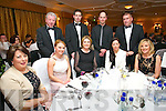 Kerry Radio Business awards night at Ballygarry House Hotel on Friday. Pictured front l-r Joan Griffin, Pauline Maroney, Majella Griffin, Caroline Griffin, Frances O'Sullivan, back r-l Patrick O'Sullivan, David Maroney, Pat Griffin, John Griffin