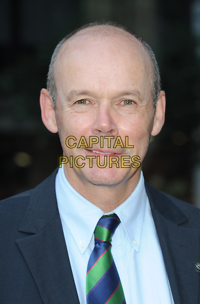 Sir Clive Woodward.attending the McLaren Car Showroom Launch at One Hyde Park, Knightsbridge, London, England, UK, June 21st 2011..portrait headshot  blue shirt green tie .CAP/WIZ.© Wizard/Capital Pictures.