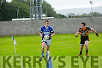 In Action O'Rahilly's Sean Walsh and  Austin Stacks John Dennis  at the Senior County League Kerins O'Rahilly's V Austin Stacks  Co League Div 1 at Kerins O'Rahilly's Strand Rd on Saturday
