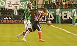 Deportivo Cali se impuso 3-2 a Junior este jueves por la noche en el estadio Palmaseca en un partido que fue accidentado, por la fecha 9 del Torneo Apertura Colombiano 2015.