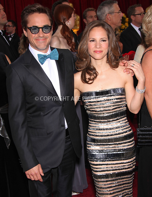 WWW.ACEPIXS.COM . . . . .  ....March 7 2010, Hollywood, CA....Actor Robert Downey Jr. (R) and producer Susan Downey  arriving at the 82nd Annual Academy Awards held at Kodak Theatre on March 7, 2010 in Hollywood, California.....Please byline: Z10-ACE PICTURES... . . . .  ....Ace Pictures, Inc:  ..Tel: (212) 243-8787..e-mail: info@acepixs.com..web: http://www.acepixs.com