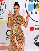 LOS ANGELES, CA - OCTOBER 09: Lexy Panterra attends the 2018 American Music Awards at Microsoft Theater on October 9, 2018 in Los Angeles, California.  <br /> CAP/MPI/IS<br /> &copy;IS/MPI/Capital Pictures