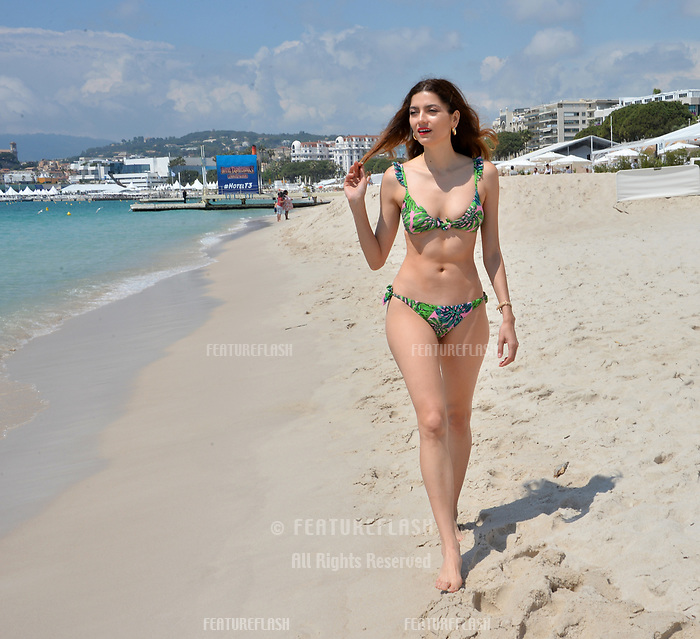 Actress Blanca Blanco in Cannes to promote her new movie &quot;Mission Possible&quot; at the 71st Festival de Cannes, Cannes, France 11 May 2018<br /> Picture: Paul Smith/Featureflash/SilverHub 0208 004 5359 sales@silverhubmedia.com