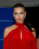 Model Adriana Lima arrives for the 2016 White House Correspondents Association Annual Dinner at the Washington Hilton Hotel on Saturday, April 30, 2016.<br /> Credit: Ron Sachs / CNP<br /> (RESTRICTION: NO New York or New Jersey Newspapers or newspapers within a 75 mile radius of New York City)