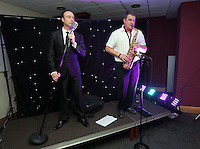 Pictured: Singers on stage<br />