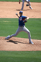 Dylan Cease - Chicago Cubs 2016 extended spring training (Bill Mitchell)
