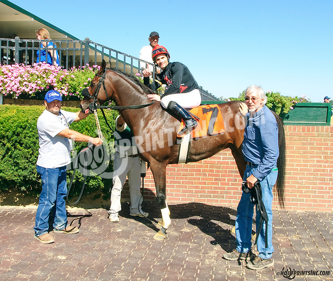 Agonistic winning at Delaware Park on 9/23/15