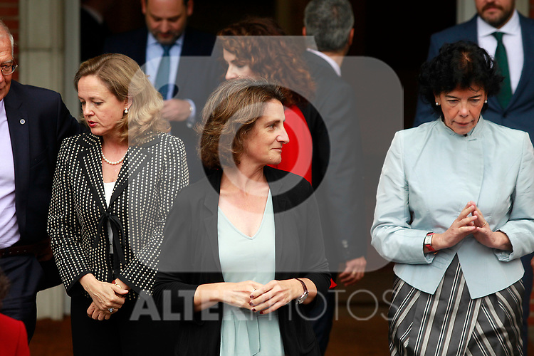 Teresa Ribera, Minister of Ecological Transition after the first Council of Ministers of the new Government of Spain, chaired by Pedro Sanchez. June 8,2018. (ALTERPHOTOS/Acero)