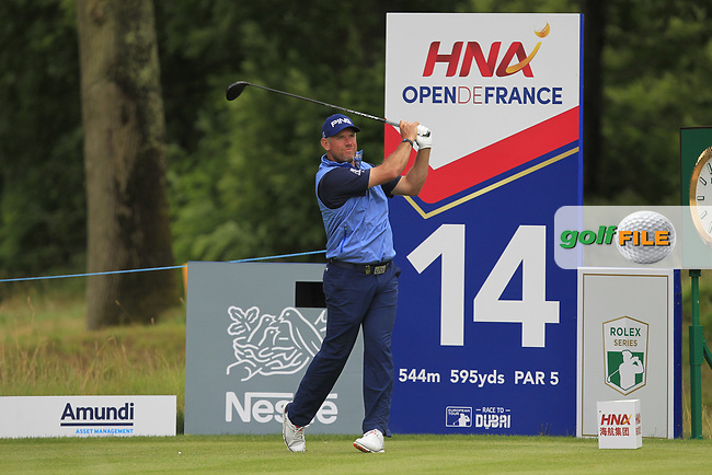 during Round 3 of the HNA Open De France  at The Golf National on Saturday 1st July 2017.<br /> Photo: Golffile / Thos Caffrey.<br /> <br /> All photo usage must carry mandatory copyright credit     (&copy; Golffile | Thos Caffrey)