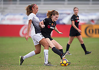Lakewood Ranch, FL - December 8, 2017: 2017 Girls Development Academy Winter Showcase & Nike International Friendlies at Premier Sports Campus at Lakewood Ranch, FL.