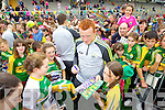Johnny Buckley at Kerry GAA family day at Fitzgerald Stadium on Saturday.