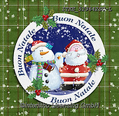 Isabella, NAPKINS, SERVIETTEN, SERVILLETAS, Christmas Santa, Snowman, Weihnachtsmänner, Schneemänner, Papá Noel, muñecos de nieve, paintings+++++,ITKE529642SC-L,#SV#,#X#