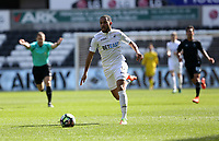 SWANSEA, WALES - MARCH 25: Kenji Gorre of Swansea City  during the Premier League International Cup Semi Final match between Swansea City and Porto at The Liberty Stadium on March 25, 2017 in Swansea, Wales. (Photo by Athena Pictures)
