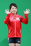 Hiromi Miyaka (JPN), <br /> AUGUST 6, 2016 - Weightlifting : <br /> Women's 48kg Medal Ceremony <br /> at Riocentro - Pavilion 2 <br /> during the Rio 2016 Olympic Games in Rio de Janeiro, Brazil. <br /> (Photo by YUTAKA/AFLO SPORT)