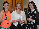 Michelle Weldon, Fiona Kelly and Roisin Hoben pictured at the Women In Sport Lunch at City North Hotel. Photo:Colin Bell/pressphotos.ie