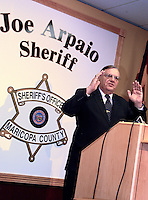 AJ Alexander - Maricopa Sheriff Joe Arpaio .Photo by AJ Alexander .#080528-036