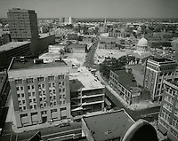 1961 June 29..Redevelopment.Downtown North (R-8)..Downtown Progress..North View from VNB Building..HAYCOX PHOTORAMIC INC..NEG# C-61-5-75.NRHA#..