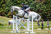 NZL-Glen Beal rides Sacramento. Class 22: Jump-off - Outpost Buildings Horse GP Super Series. 2020 NZL-Collinson Forex Premier Show Jumping At Woodhill Sands. Helensville. Sunday 12 January. Copyright Photo: Libby Law Photography