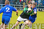 Churchill's Chris Hurley and St Mary's Niall O'Driscoll.