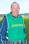 Kerry's hurling manager Mossie O'Carroll..