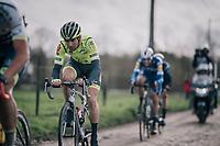 Baptiste Planckaert (BEL/Wallonie-Bruxelles)<br /> <br /> 51th Le Samyn 2019 <br /> Quaregnon to Dour (BEL): 200km<br /> <br /> ©kramon