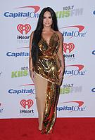 01 December  2017 - Inglewood, California - Demi Lovato. 2017 102.7 KIIS FM's Jingle Ball held at The Forum in Inglewood. Photo Credit: Birdie Thompson/AdMedia