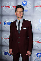 """Matt Bomer<br /> at the HBO Premiere of """"The Normal Heart,"""" WGA Theater, Beverly Hills, CA 05-19-14<br /> David Edwards/DailyCeleb.com 818-249-4998"""