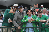February 2nd 2019, Scottsdale, Arizona, USA; The fans on the 16th hole get started early in a party atmosphere during the third round of the Waste Management Phoenix Open on February 02, 2019, at TPC Scottsdale in Scottsdale, AZ. The 16th hole is often called the loudest hole in golf.