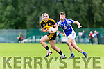 Daithi Casey Dr Crokes starts another attack against Templenoe during their league clash in Lewis Rd on Sunday