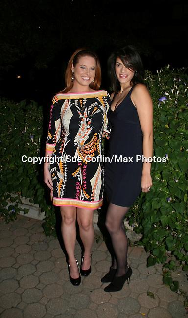 OLTL's Melissa Archer & Jacqueline Hendy at the ABC Daytime Casino Night on October 23, 2008 at Guastavinos, New York CIty, New York. (Photo by Sue Coflin/Max Photos)