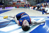 FC Barcelona Regal's Marcelinho Huertas during Liga Endesa ACB match.November 18,2012. (ALTERPHOTOS/Acero) /NortePhoto