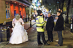 © Joel Goodman - 07973 332324 . FILE PICTURE DATED 05/05/2013 of Manchester's Police and Crime Commissioner , Tony Lloyd (3rd from left) on overnight patrol with police in Central Manchester as the British Home Secretary , Theresa May , takes questions at the annual Police Federation conference on licensing and policing the night time economy , today (Wednesday 15th May 2013) . Photo credit : Joel Goodman