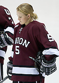 Kelly Alyea (Union - 5) - The Northeastern University Huskies defeated the Union College Dutchwomen 4-1 on Saturday, October 3, 2009, at Matthews Arena in Boston, Massachusetts.