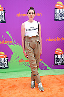 LOS ANGELES, CA July 13- Breanna Stewart, At Nickelodeon Kids' Choice Sports Awards 2017 at The Pauley Pavilion, California on July 13, 2017. Credit: Faye Sadou/MediaPunch