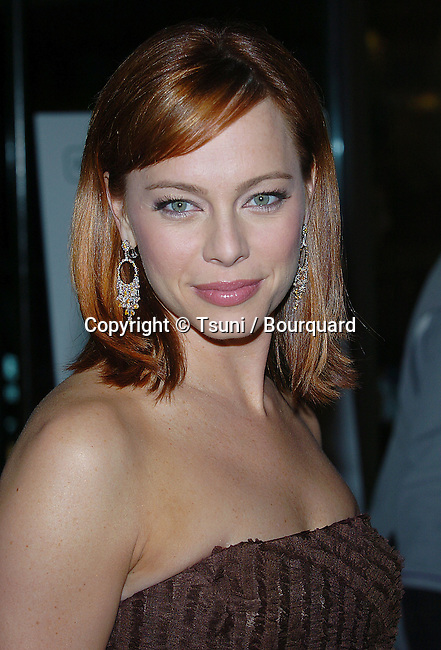 Melinda Clarke at the Fifth Annual Hollywood Makup Artist & Hairstylist Guild Awards at the Beverly Hilton in Los Angeles. January, 17, 2004.